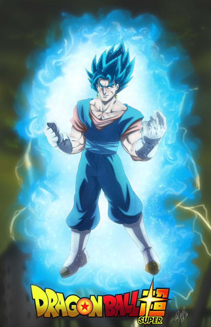 Super Saiyan Blue Vegito by Zelmarr