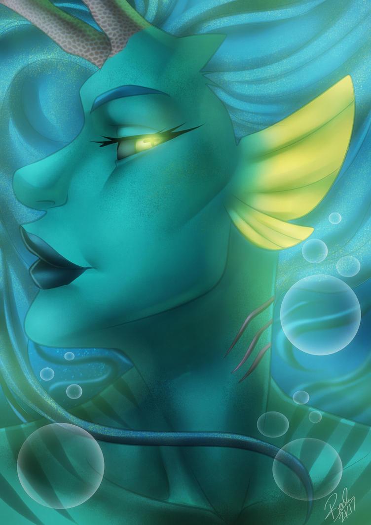 Water Face Shot by Zelmarr