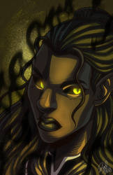 Malraze Face by Zelmarr