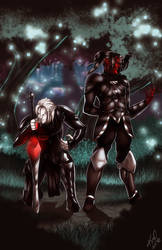 Kavel and Sorja Commission by Zelmarr