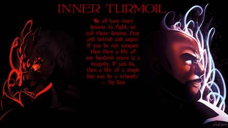 Inner Turmoil teaser wallpaper by Zelmarr
