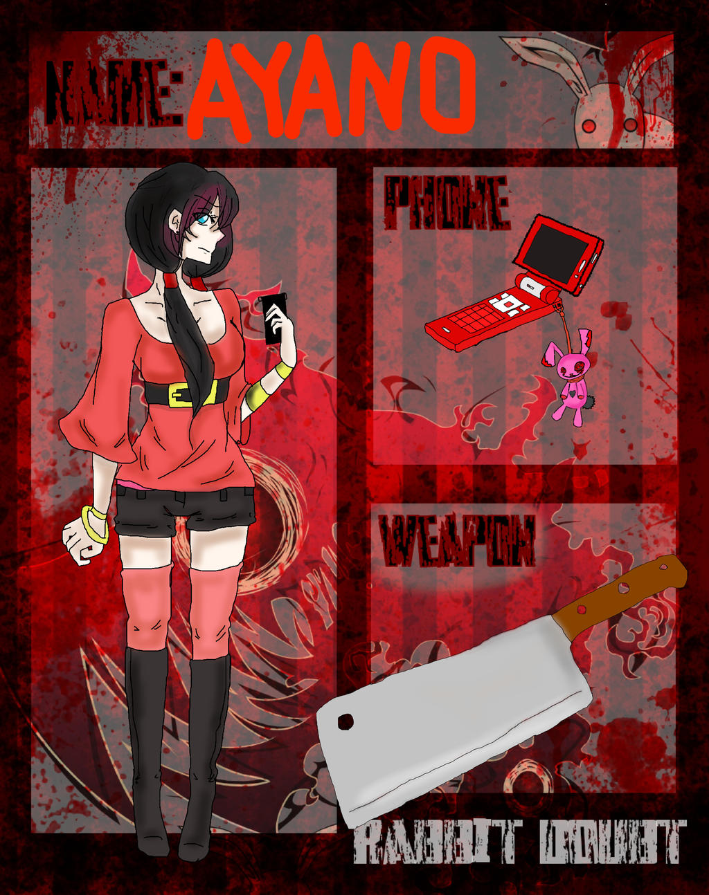 Rabbito-Dauto APP: Ayano by Just-Anothr-Fan