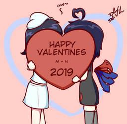 MuraNue's Valentines by De-D3vil