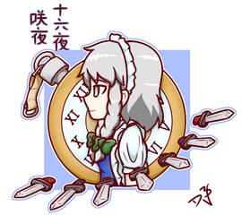 COMM: Sakuya Portrait