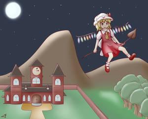 Flan in the Night Sky