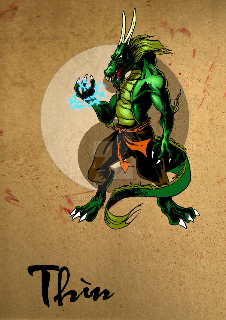 Vietnamese Dragon: Dragon By Dukehoang On DeviantArt