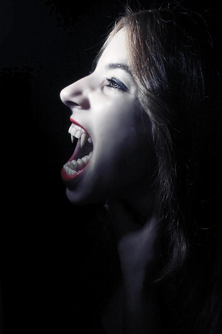 vampire girl by JoshDestroyer