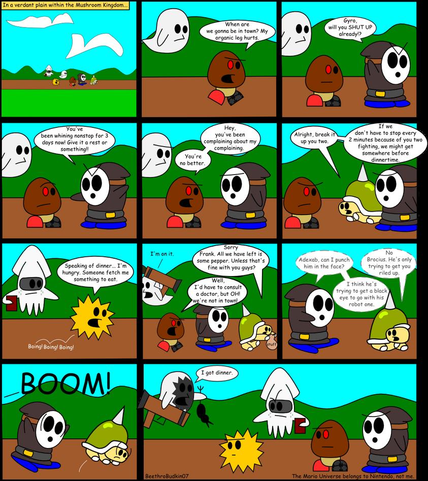 WotMK Page 1 by ArtfulRoomsOfDeath