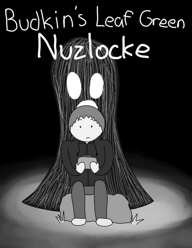 Budkin's Leaf Green Nuzlocke Cover by ArtfulRoomsOfDeath