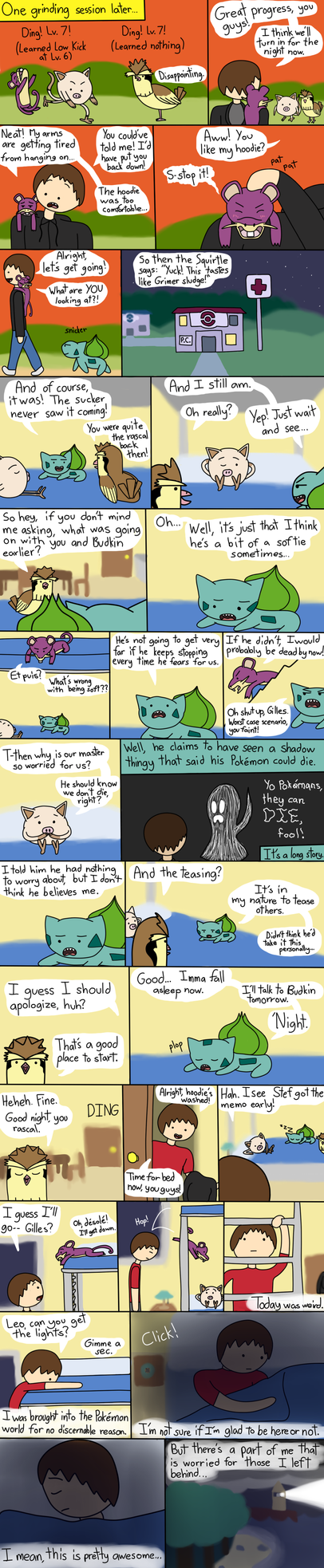 Budkin's Leaf Green Nuzlocke Page 6 by ArtfulRoomsOfDeath