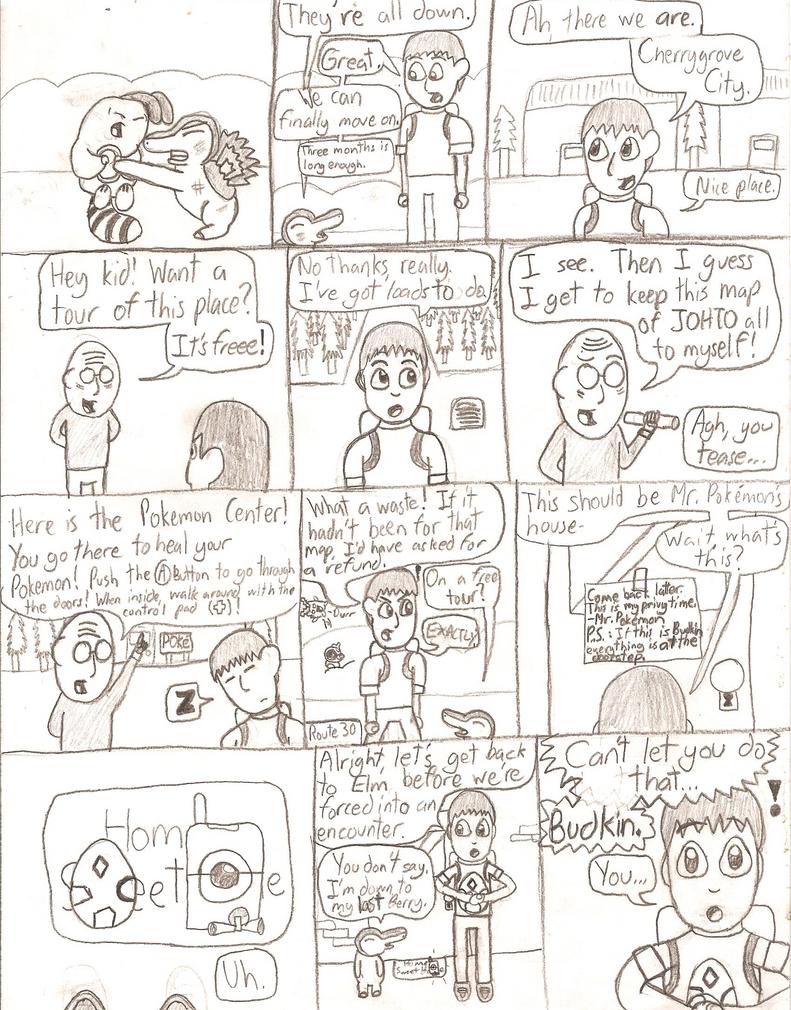 OLD Pokemon Crystal Nuzlocke Page 5 by ArtfulRoomsOfDeath