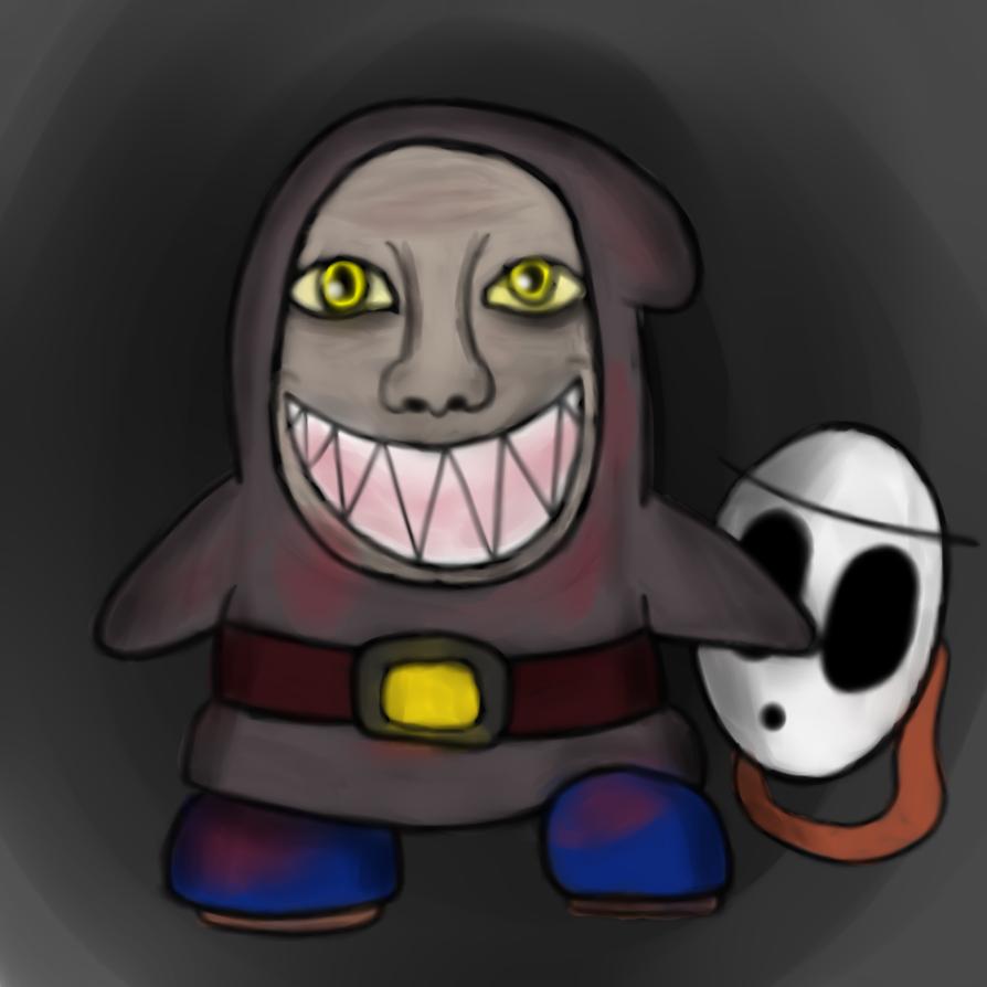 Halloween Bonus: Brocius Unmasked (NON-CANON) by ArtfulRoomsOfDeath
