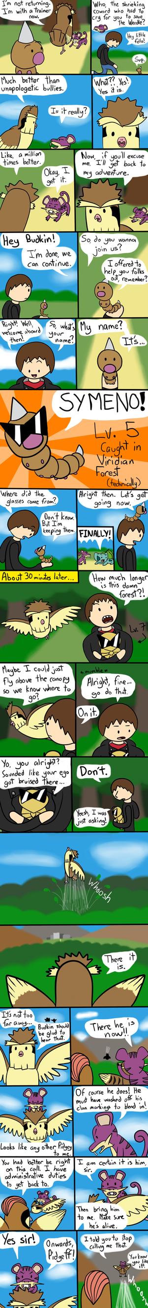 Budkin's Leaf Green Nuzlocke Page 9 by ArtfulRoomsOfDeath