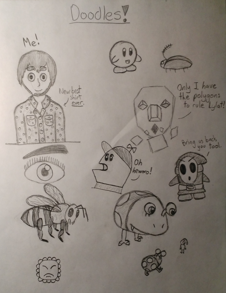 Another Batch of Doodles! by ArtfulRoomsOfDeath