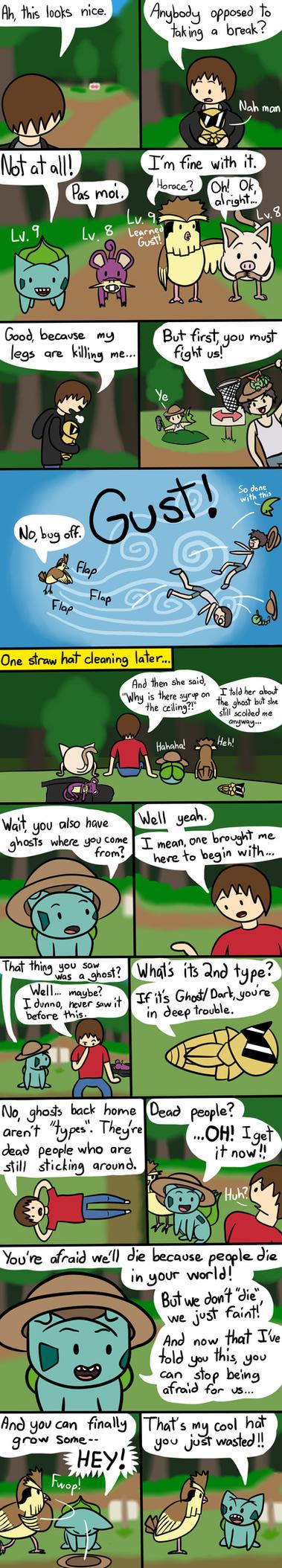 Budkin's Leaf Green Nuzlocke Page 10 by ArtfulRoomsOfDeath