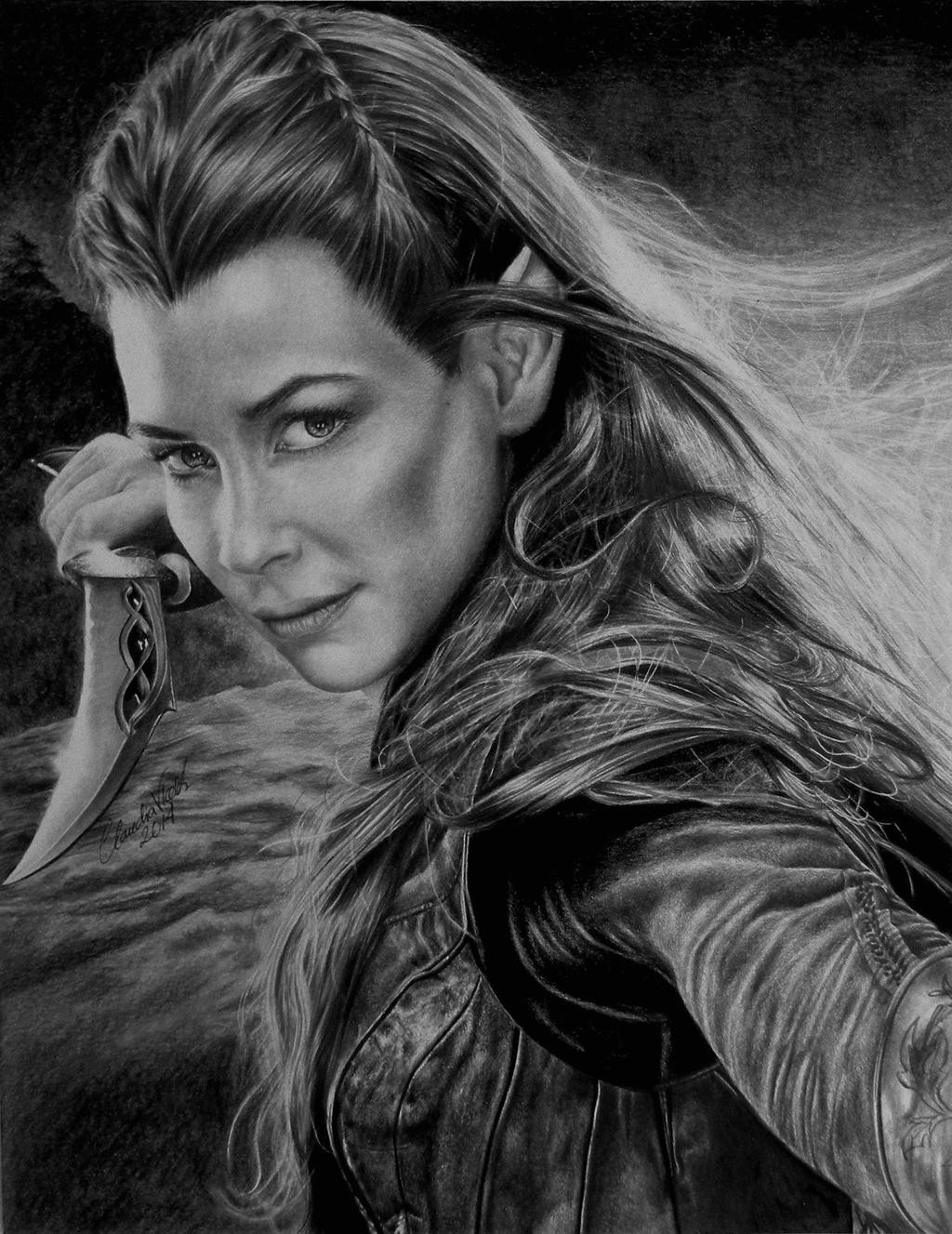 Daughter of Mirkwood by riverstyx27