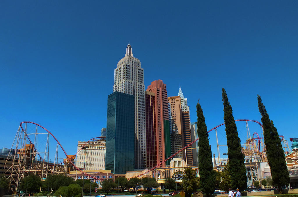 New York New York - Las Vegas by DontEverLookDown