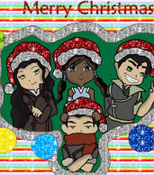 Lok Christmas GLITTERING :D by CuriouslyXinlove