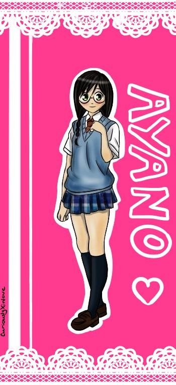 Ayano Sato bookmark by CuriouslyXinlove