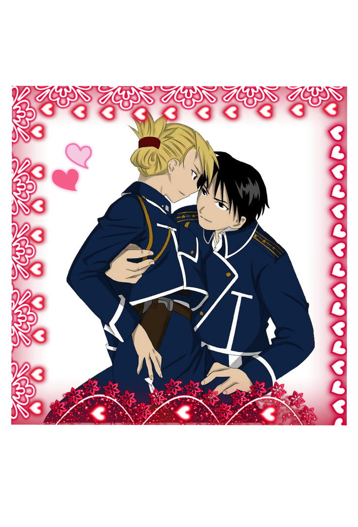 Happy Valentines day! Royai by CuriouslyXinlove