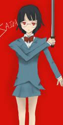 SPOILERISH Anri by anime-oblivion