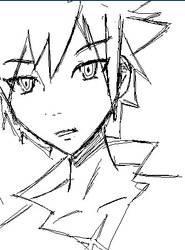 Takuto Sketch by anime-oblivion