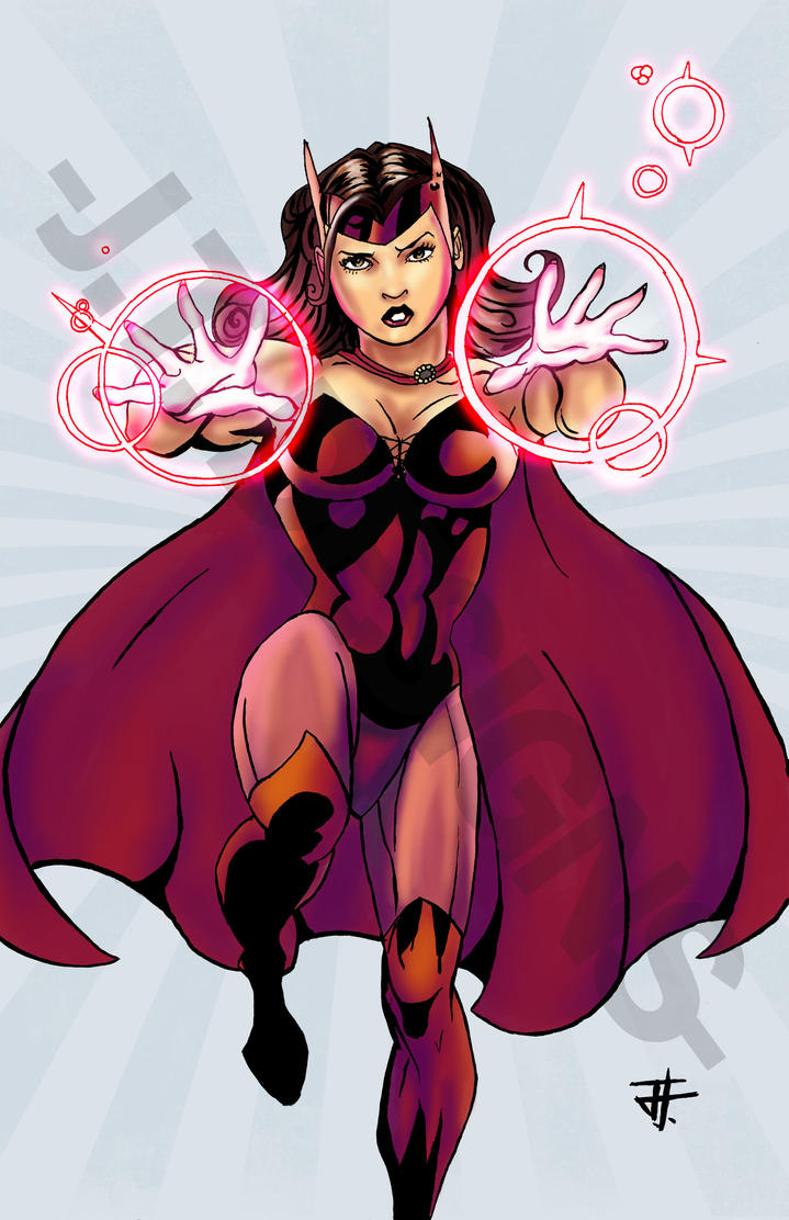 Scarlet Witch: Avengers Age of Ultron by IronWarrior777
