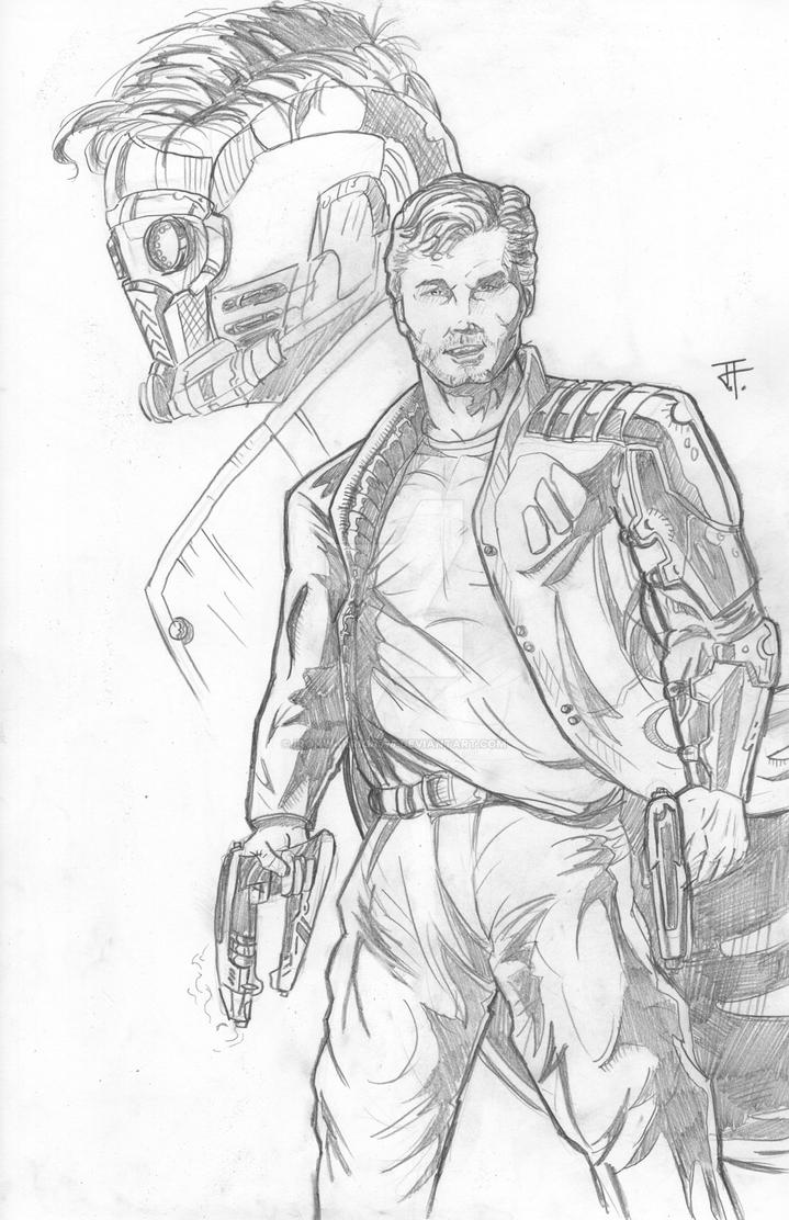 StarLord in MARVEL's GOTG by IronWarrior777