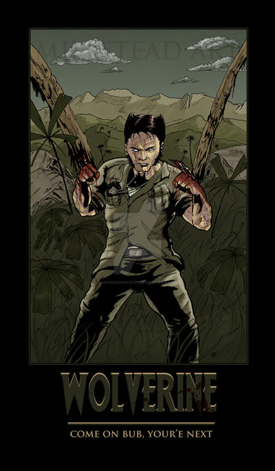 Wolverine in Vietnam:  Finished Poster by IronWarrior777