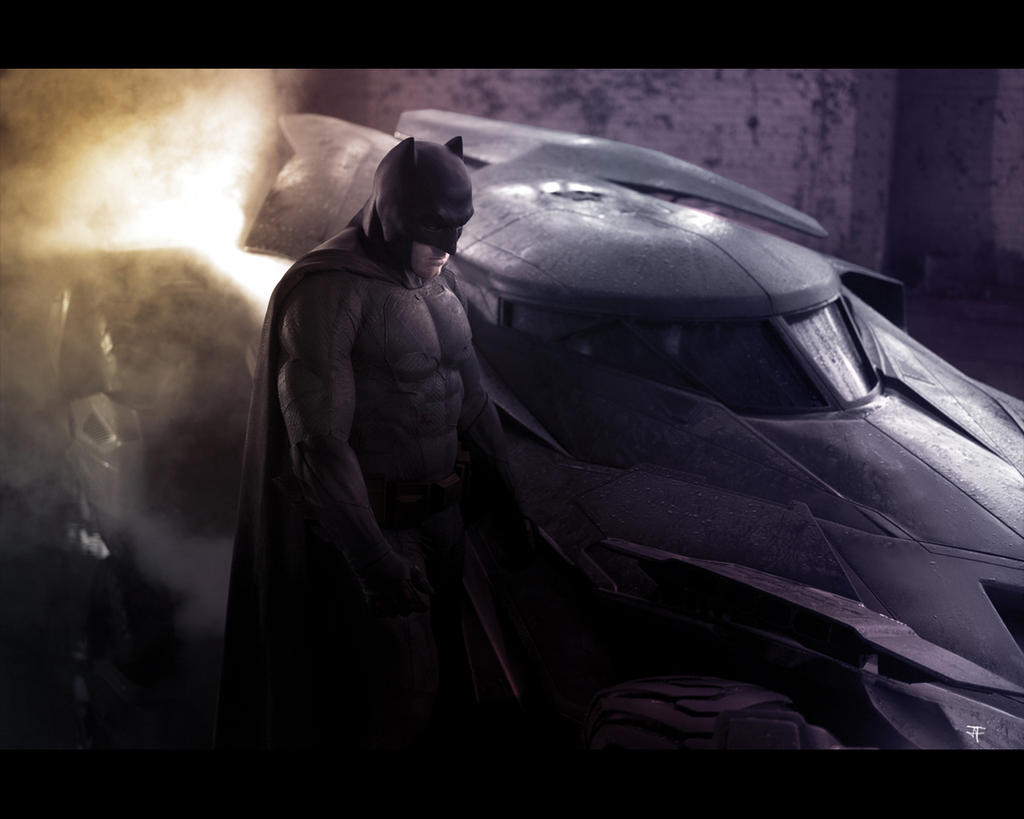 Batman Reveal Bat-Suit Colored by IronWarrior777