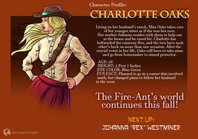 Official Fire-Ants Charlotte Oaks Character Spot by IronWarrior777