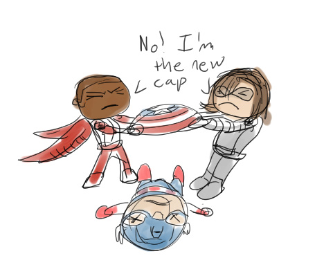 NO! I'm the NEW Cap by IronWarrior777