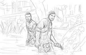 Joel and Rick by IronWarrior777