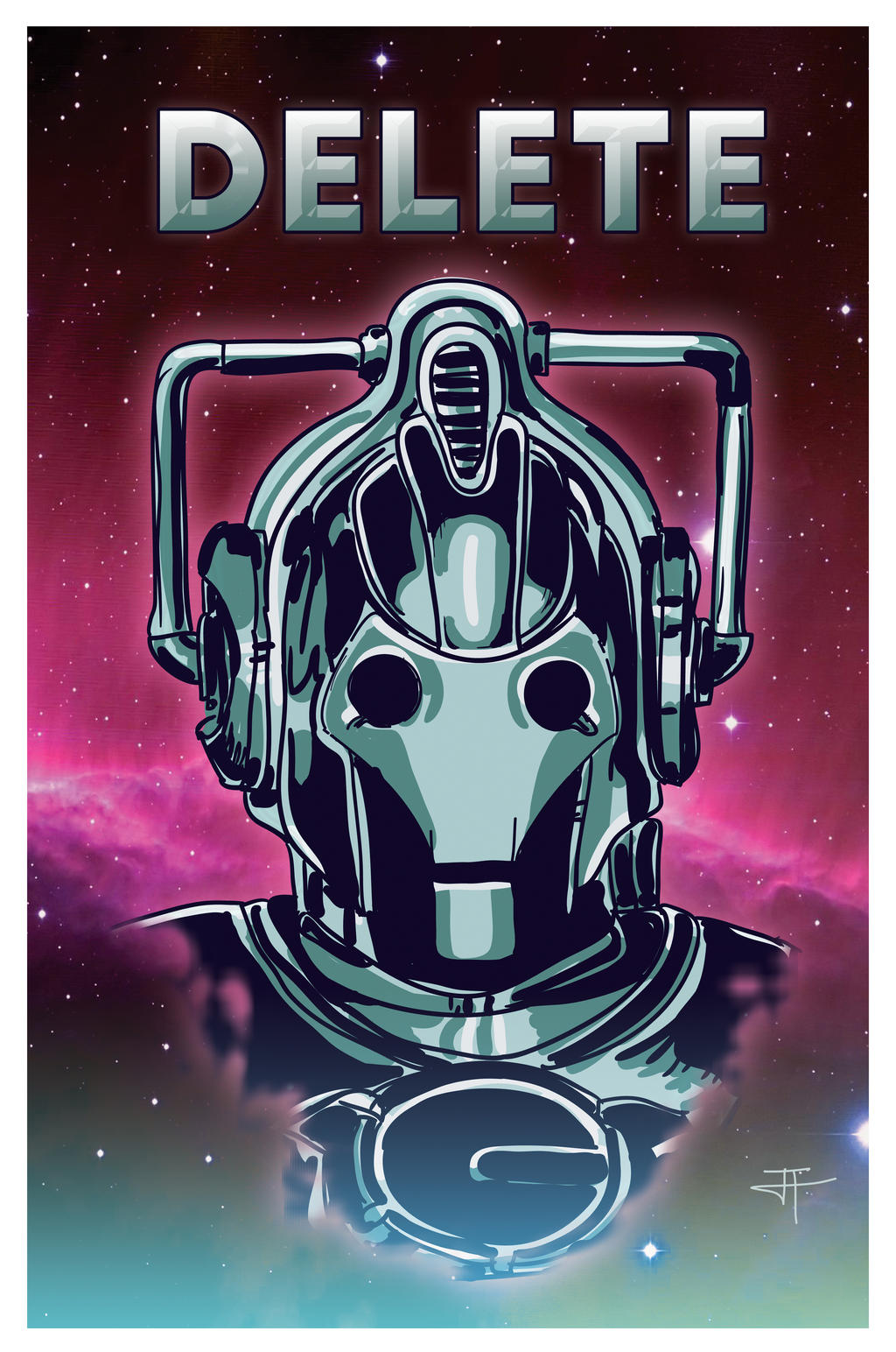 Cyberman by IronWarrior777