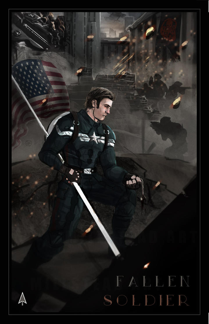 Fallen Soldier by IronWarrior777