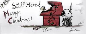 Post Apocalyptic Snoopy Christmas