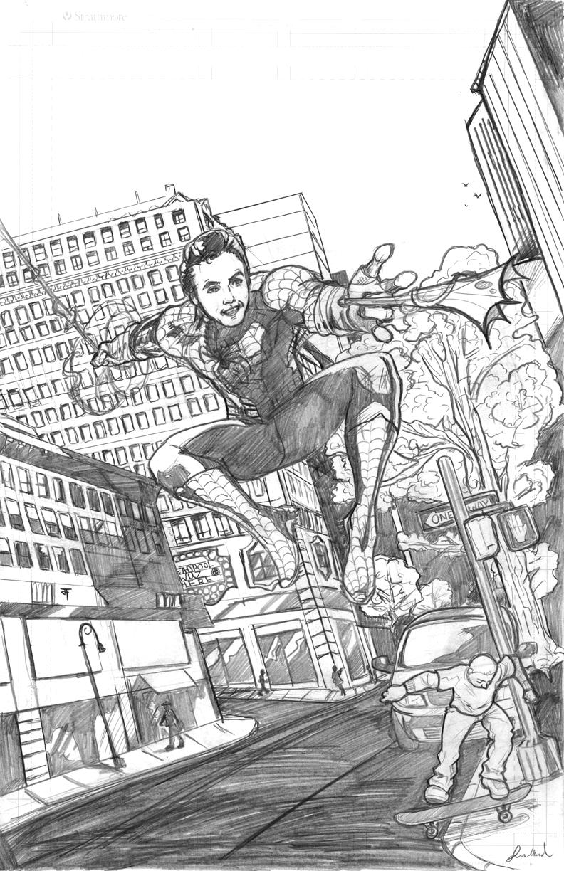 SPIDER-MAN by IronWarrior777