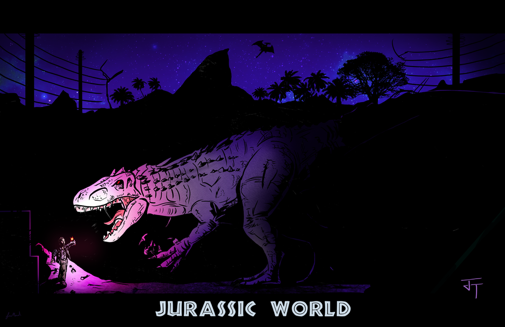 Jurassic World by IronWarrior777