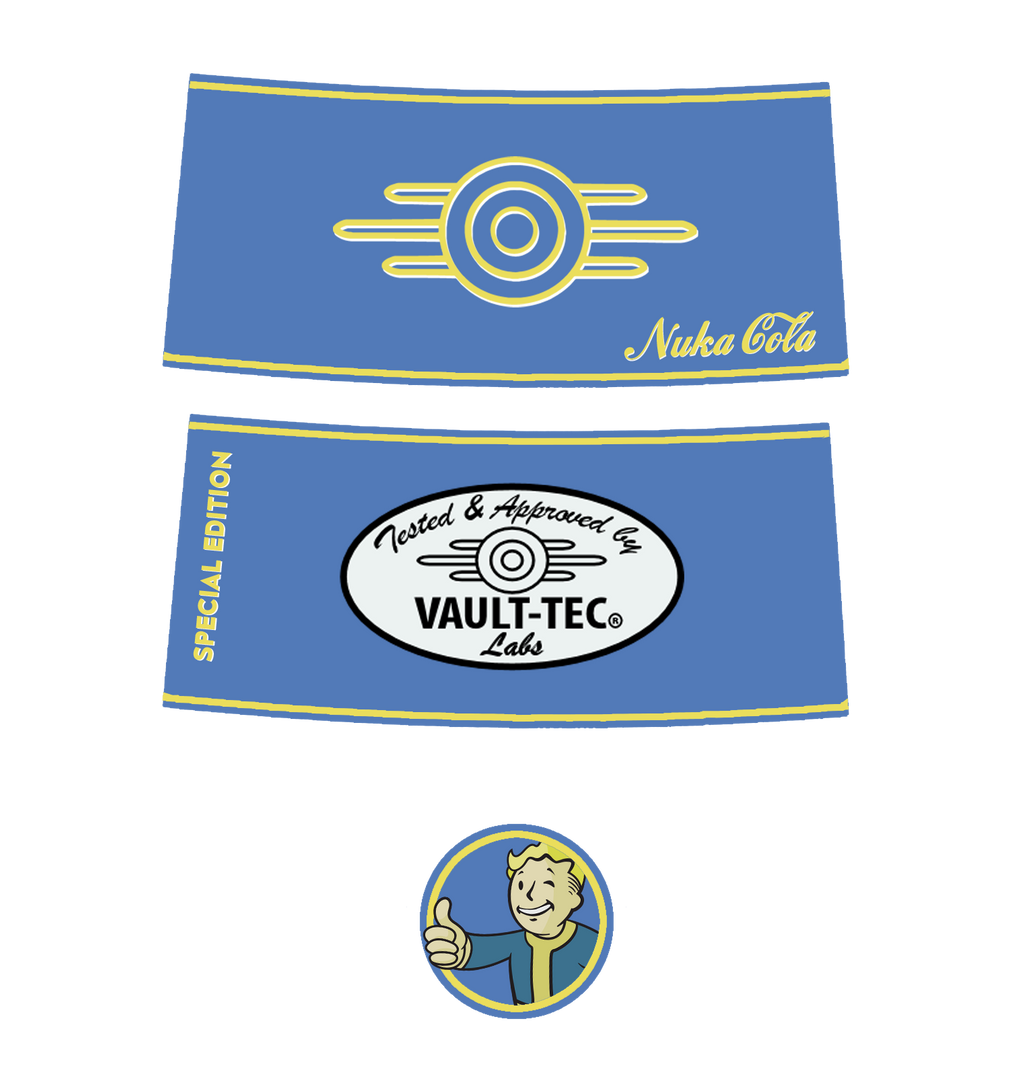 Vault Tec Nuka Cola Special Editition by IronWarrior777