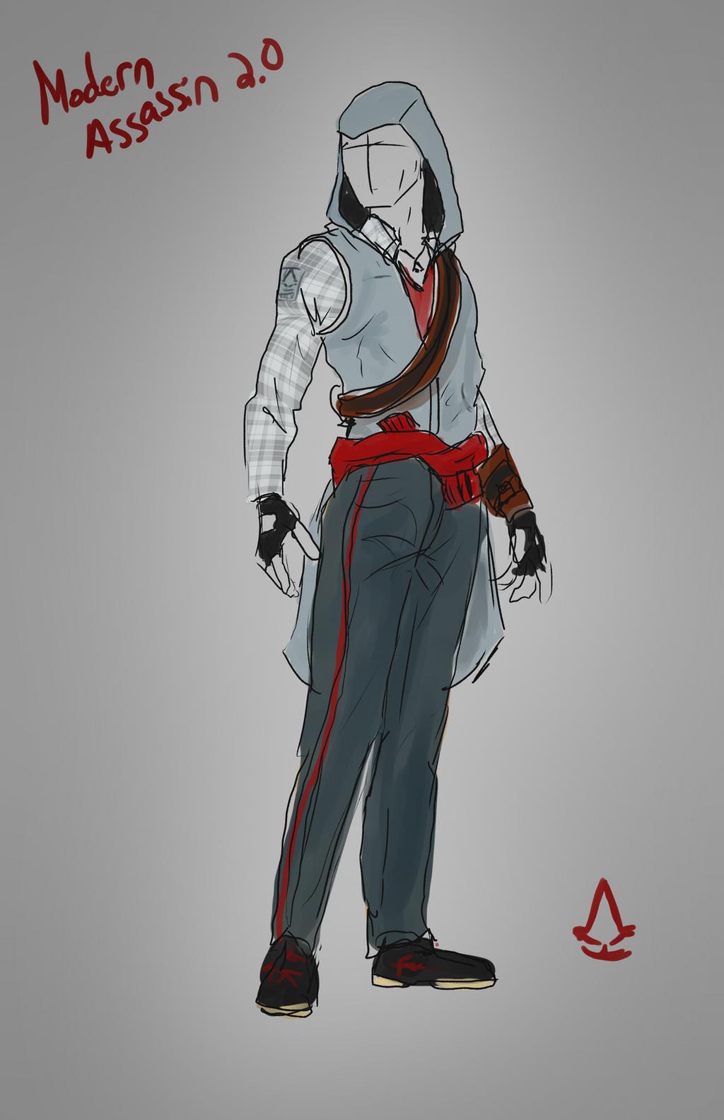 Modern Assassin by IronWarrior777