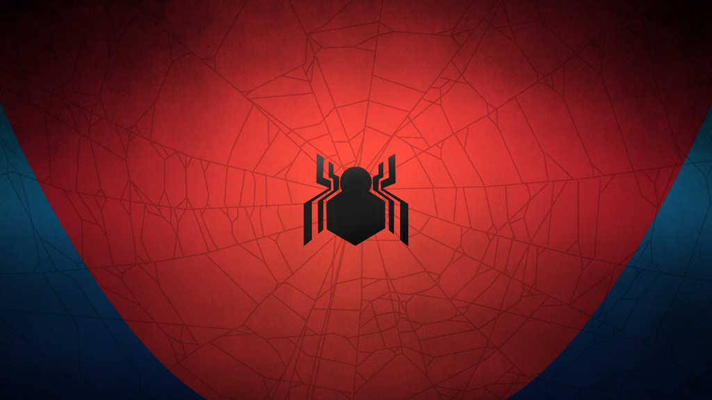 Civil war spider man minimal wallpaper by ironwarrior777 for Deviantart minimal wallpaper