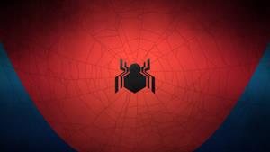 Civil War Spider-Man: Minimal Wallpaper