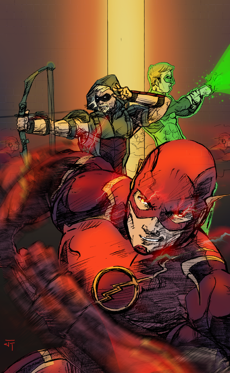 The B Team Trinity by IronWarrior777