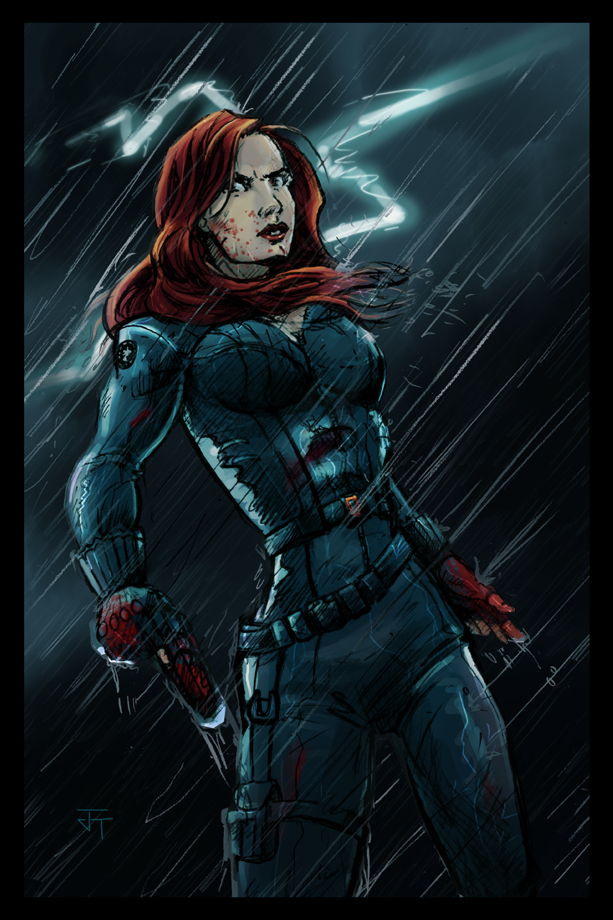 Black Widow by IronWarrior777