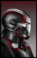 Patriot RED by IronWarrior777