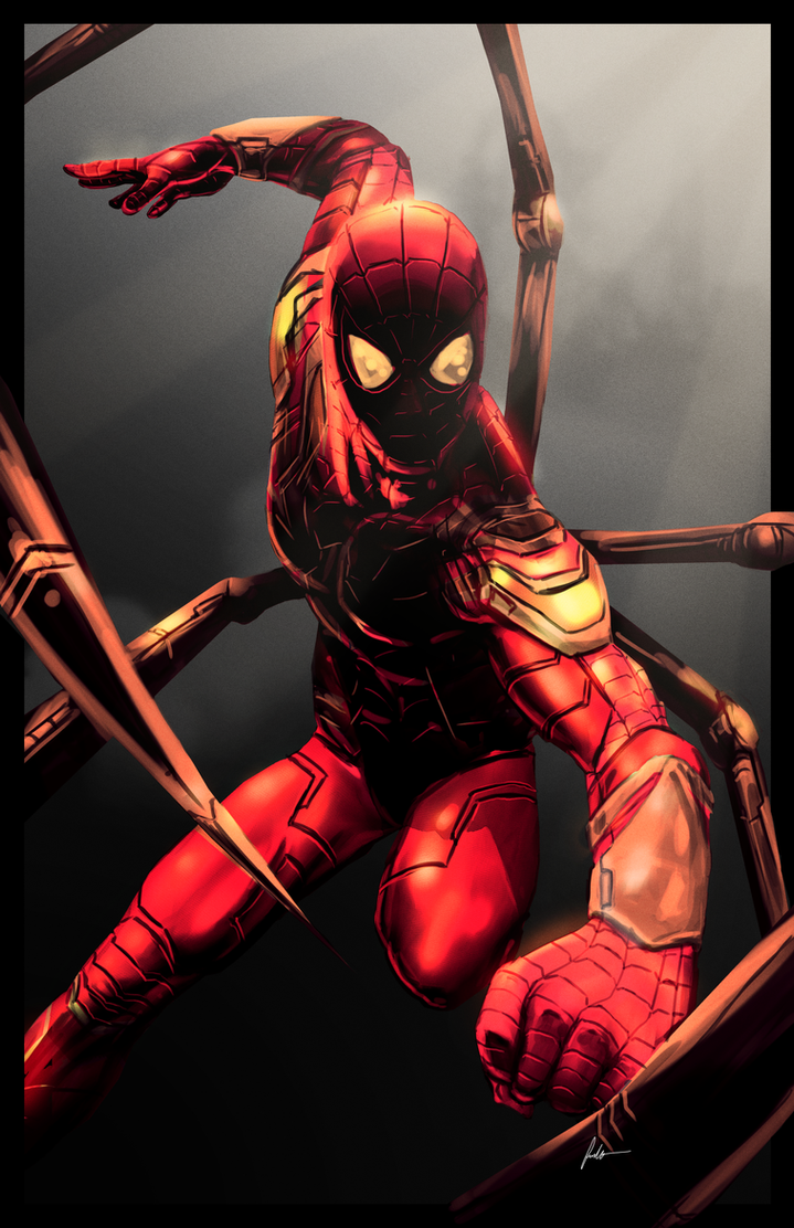 Arachnid - Civil War Variant by IronWarrior777