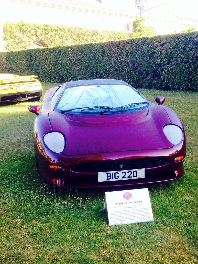 1991 Jaguar Xj220 U0027prototypeu0027 Front By Car Lover33 ...