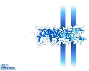 Blue Crhymez WallPaper by jaxspider