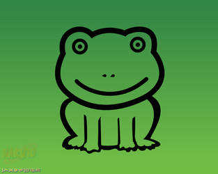 NARUTO - Green Frog Icon by jaxspider