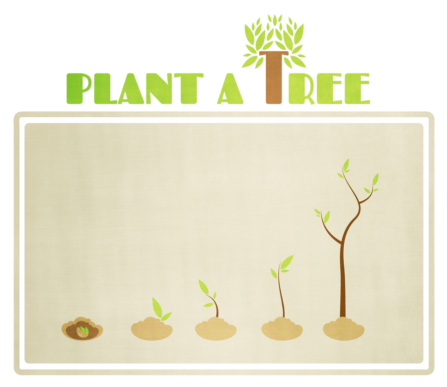 Plant a tree by painted-leaf